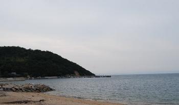 【小豆島】田井浜海水浴場