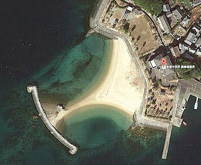 間崎島 ビーチ