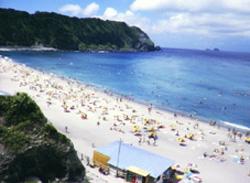 前浜海水浴場 神津島