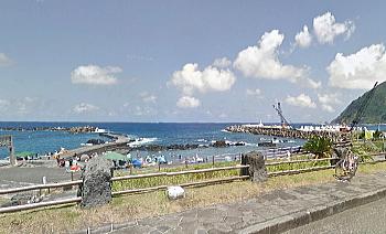 底土海水浴場 八丈島
