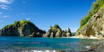 蓬莱根海岸 母島