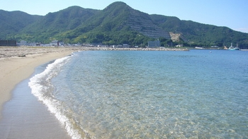 【小豆島】遠手浜海水浴場