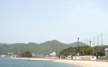 【小豆島】鹿島海水浴場