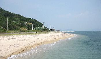 【男木島】大井海水浴場