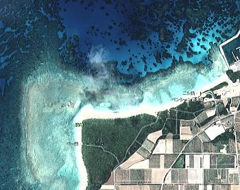 ニシ浜 波照間島