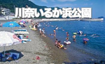 川奈いるか浜公園海水浴場