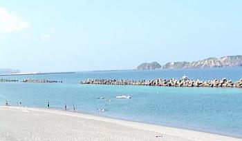 前浜海岸 新島