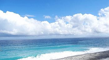 羽伏浦海岸 新島